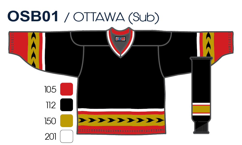 official photos e1b06 f7228 Hockey League Ottawa Vintage 3rd Jersey – SP Apparel