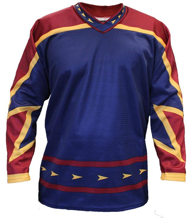 Atlanta Home Custom Hockey Jersey