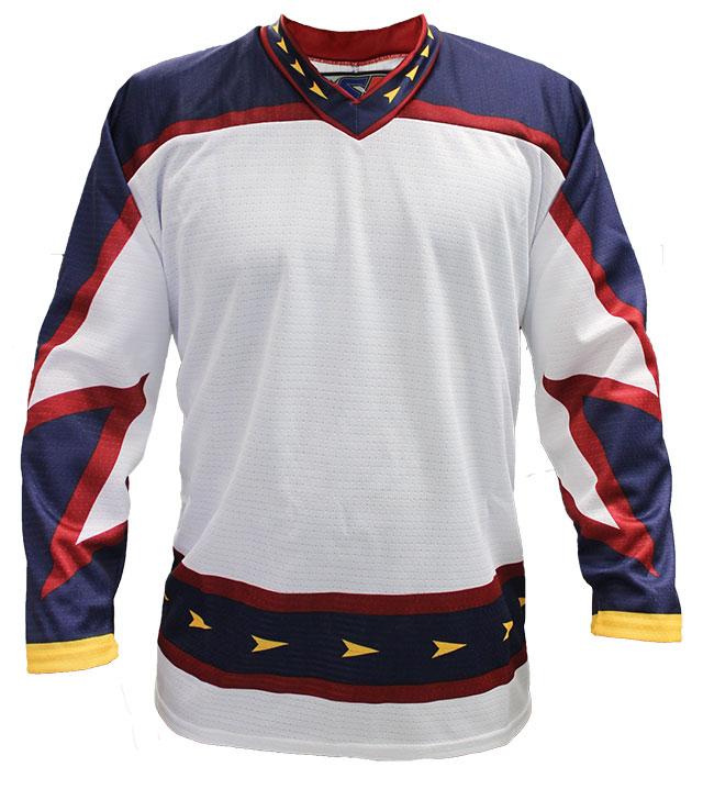 Atlanta Away Custom Hockey Jersey
