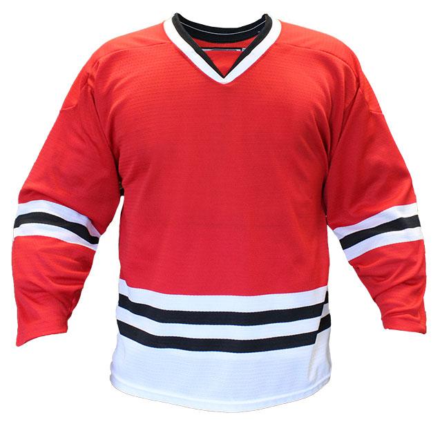 Chicago Home Custom Hockey Jersey
