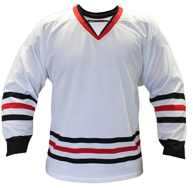 Chicago Away Custom Hockey Jersey