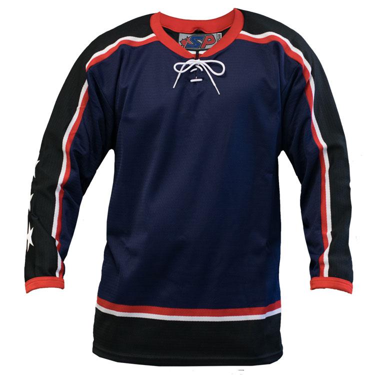Columbus Home Custom Hockey Jersey