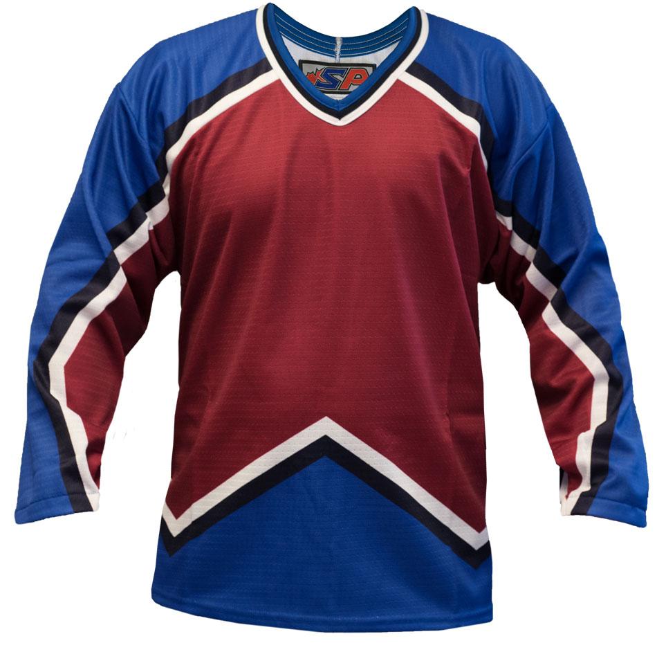 Colorado Home Custom Hockey Jersey