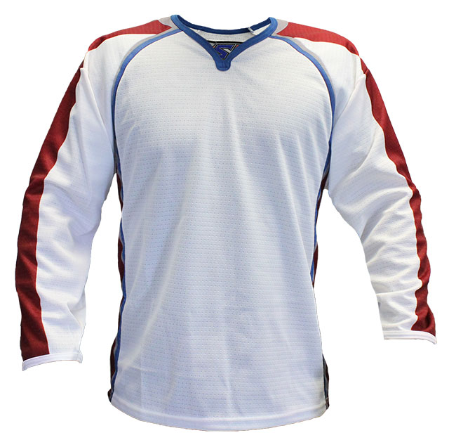 Colorado Away Custom Hockey Jersey