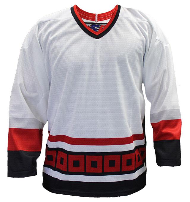 Carolina Away Custom Hockey Jersey