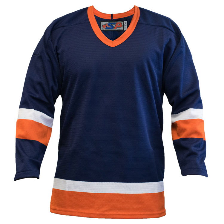 Long Island Home Custom Hockey Jersey