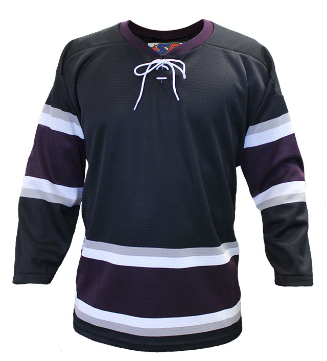 Anaheim 3rd Custom Hockey Jersey