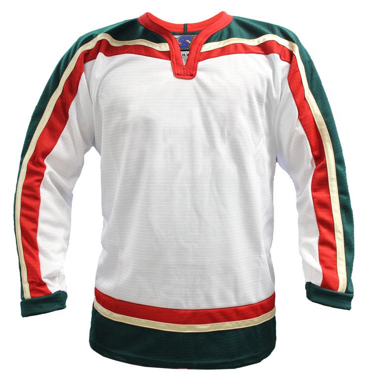 Minnesota Away Custom Hockey Jersey