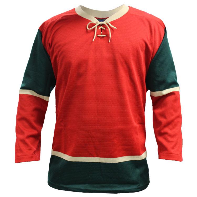Minnesota Home Custom Hockey Jersey