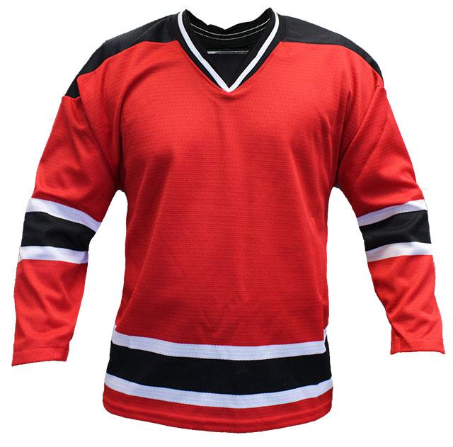 New Jersey Home Custom Hockey Jersey