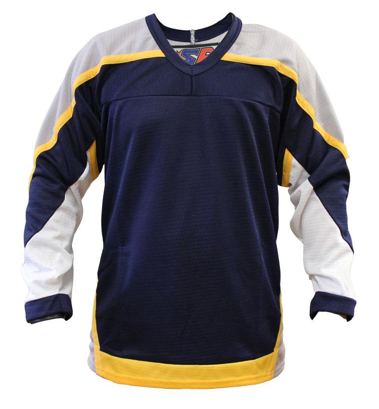 Nashville Home Custom Hockey Jersey