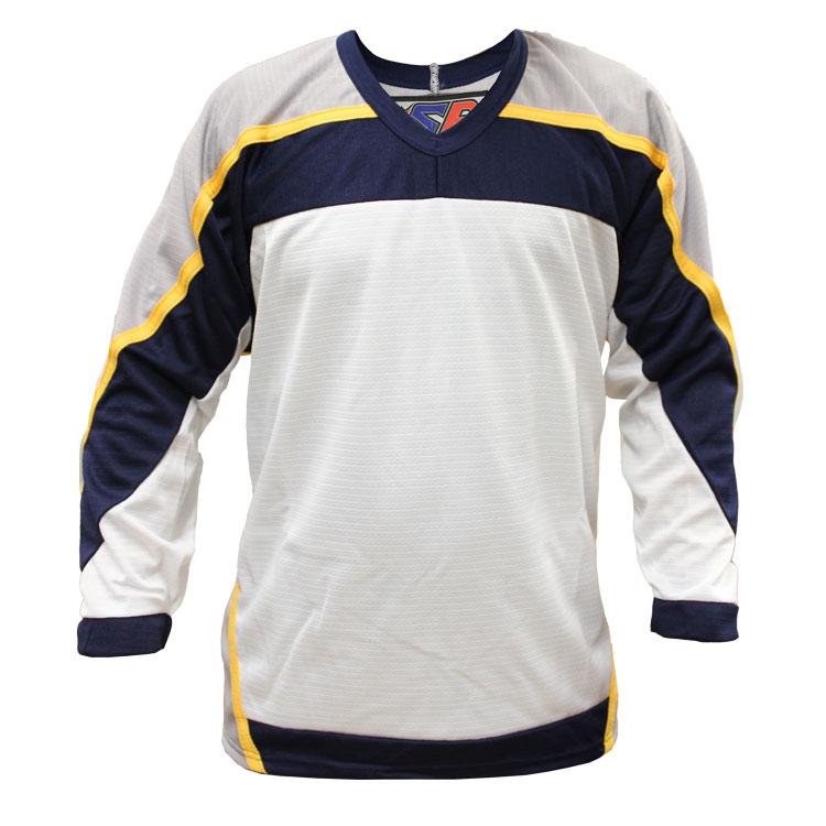 Nashville Away Custom Hockey Jersey