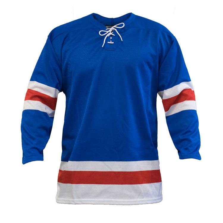 New York Home Custom Hockey Jersey