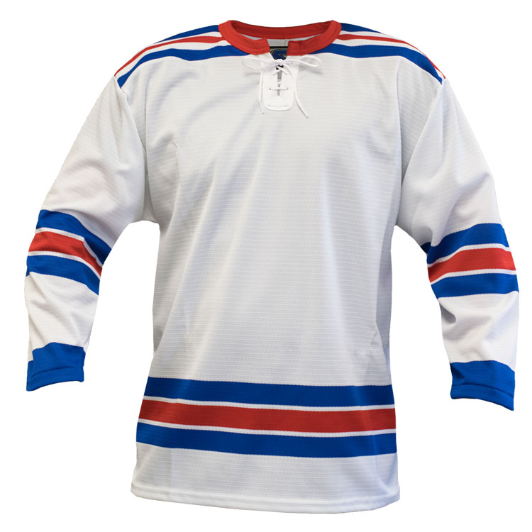 New York Away Custom Hockey Jersey
