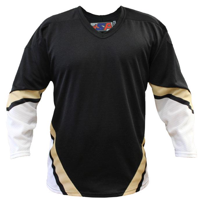 Pittsburgh Home Custom Hockey Jersey