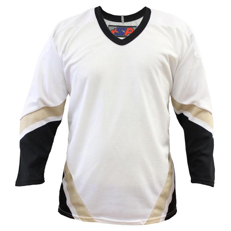 Pittsburgh Away Custom Hockey Jersey