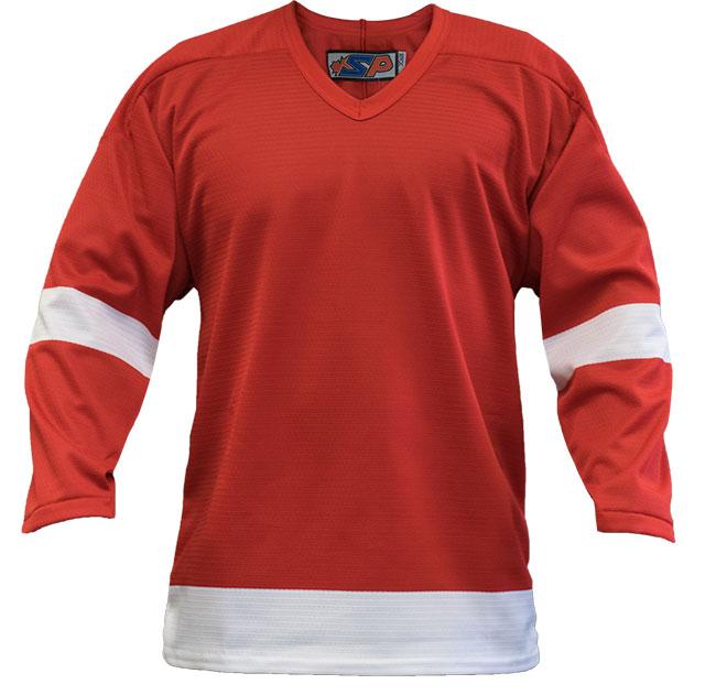 Detroit Home Custom Hockey Jersey