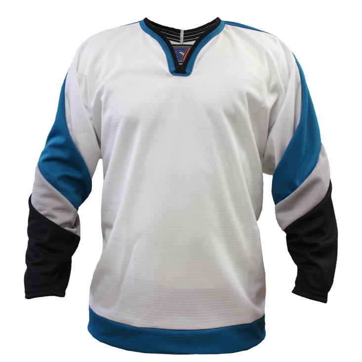 San Jose Away Custom Hockey Jersey