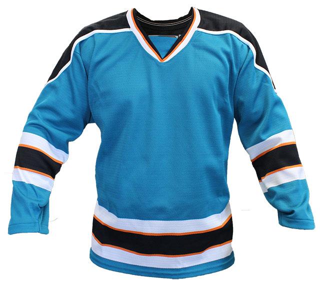 San Jose Home Custom Hockey Jersey