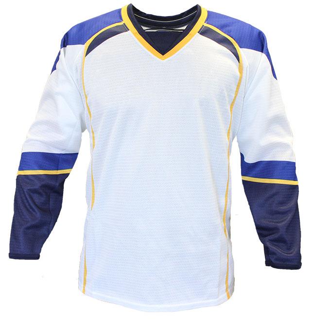 St. Louis Away Custom Hockey Jersey