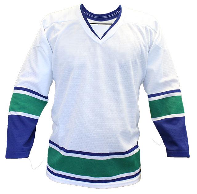 Vancouver Away Custom Hockey Jersey