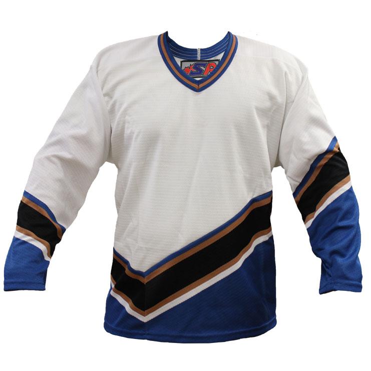 Washington Away Custom Hockey Jersey