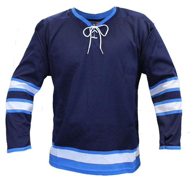 Winnipeg Home Custom Hockey Jersey